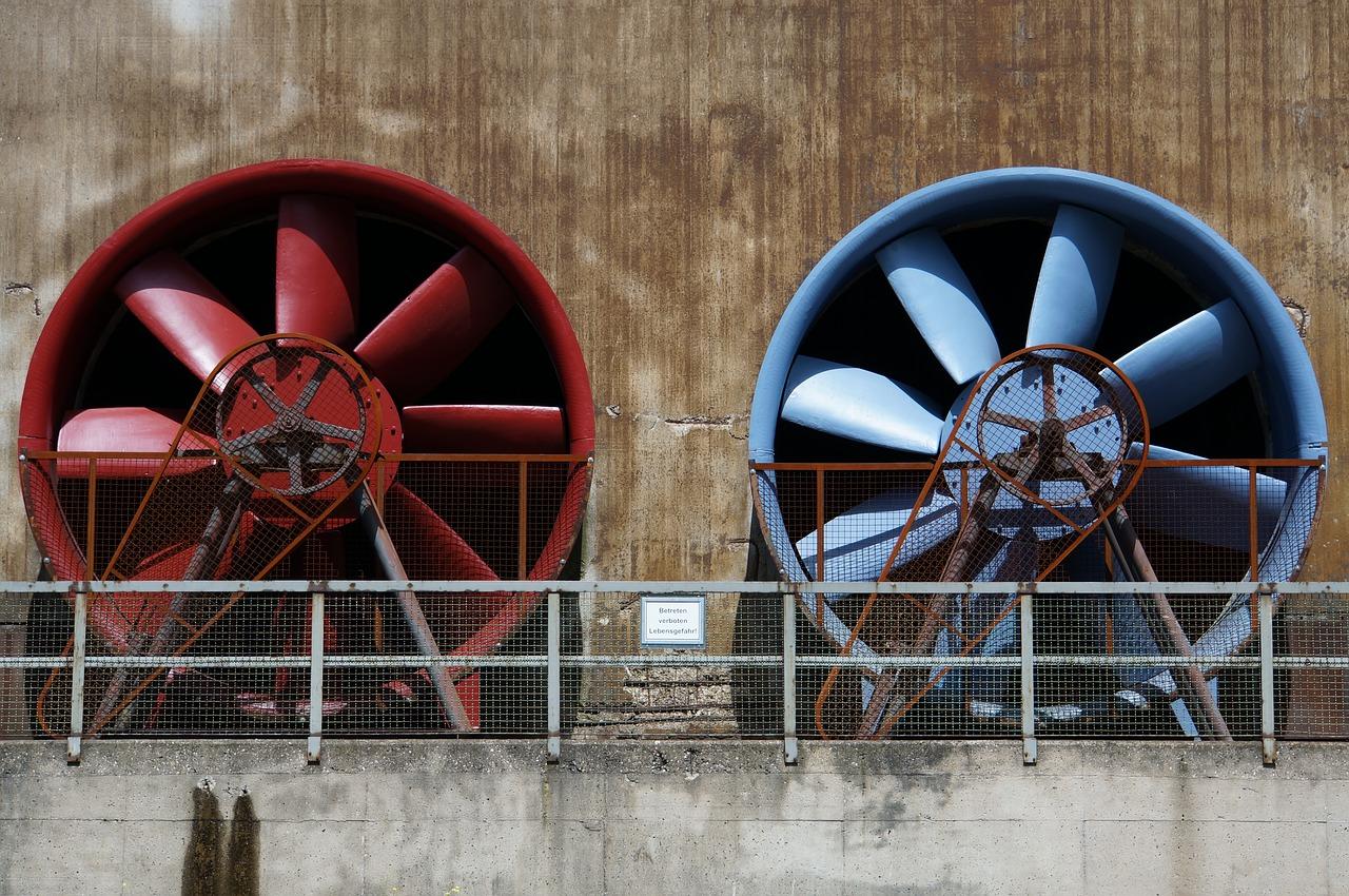 Ventilatori industriali: macchine per la gestione di grandi flusso di aria e gas